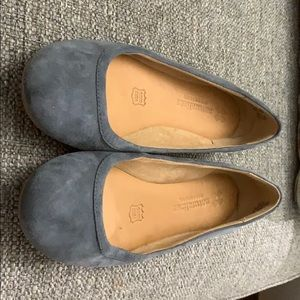 Naturalized flats - Blue Suede. Great condition.